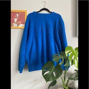 Vintage Flia Fleece Sweater